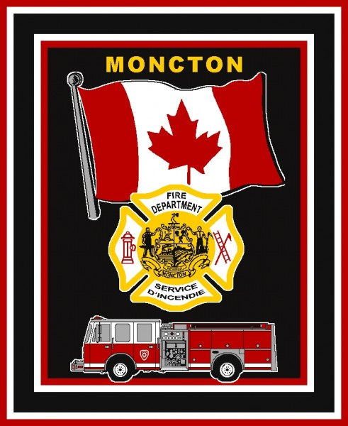 Fire Department Custom Throw Blanket Starting 55 911